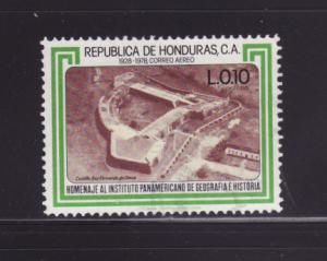 Honduras C677 U Fort San Fernando de Omoa (C)