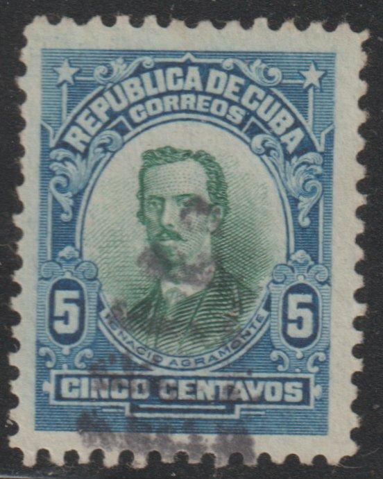 1910 Cuba Stamps Sc 242 Major General Ignacio Agramonte Used