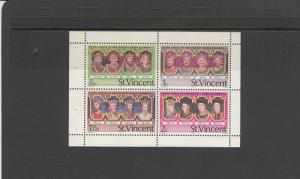 SAINT VINCENT *483a SOUVENIR SHEET MNH 2014 SCOTT CATALOGUE VALUE $3.00