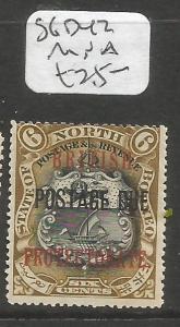 North Borneo Postage Due SG D42 MNH (3clu)