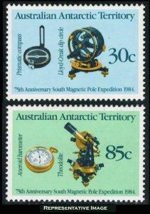 Australian Antarctic Territory Scott L57-L58 Mint never hinged.
