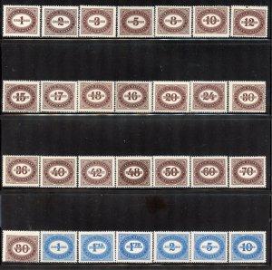 Austria # J204-31, Mint Never Hinge. CV $ 20.45