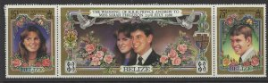 BELIZE SG941a 1986 ROYAL WEDDING MNH