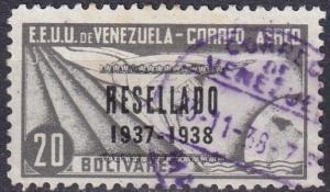 Venezuela #C78 F-VF Used  CV $47.50 (A18343)