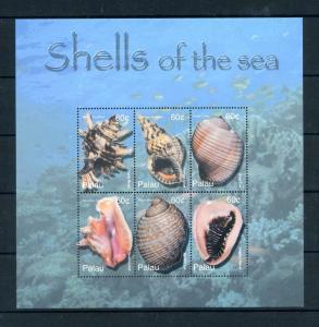 [100094] Palau 2003 Marine Life Sea Shells Souvenir Sheet MNH