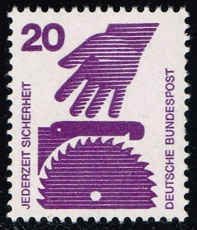 Germany #1076 Hand and Circular Saw; MNH (0.40)