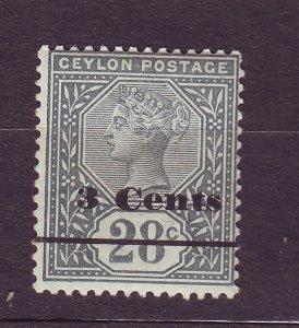 J23627 JLstamps 1892 ceylon mlh #157 queen wmk 2