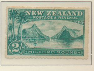 New Zealand Stamp Scott #82, Used - Free U.S. Shipping, Free Worldwide Shippi...