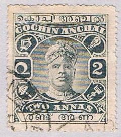 India Cochin O17 Used Overprint 1918 (BP35711)