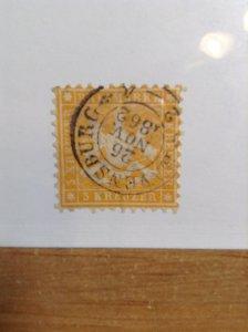 Germany  (Wurttemburg) SC #31   Used