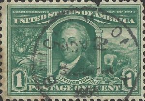 # 323 Used FAULT Green Robert R. Livingston