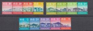 J29095, 1997 hong kong short set mnh #763-75 strips