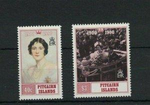 MPN19) Pitcairn Islands 1990 Queen Mother MUH