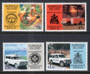 Norfolk Island 534-537 MNH VF
