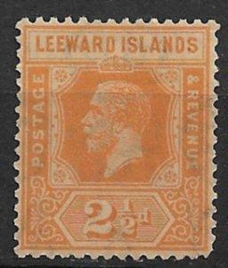 1923 Leeward Islands 69 King George V 2½p MNH