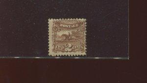 Scott 113 Post Horse & Rider Mint Stamp (Stock 113-M1)