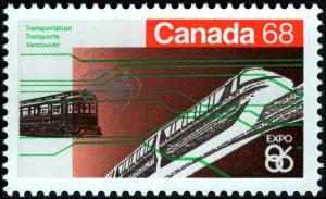 1986 Canada #1092-1093, Complete Set(2), Never Hinged