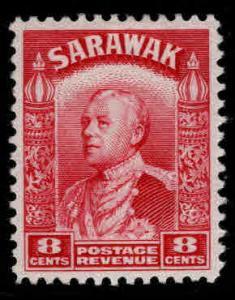 SARAWAK Scott 119 MH* stamp nicely centered fresh color