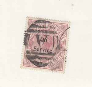 CEYLON # O18  VF-USED  1r 12c  1895-1900  QUEEN VICTORIA / ON SERVICE  CV $63