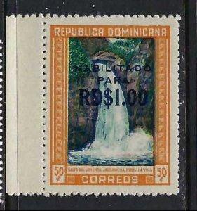 DOMINICAN REPUBLIC 540 MNH FALLS 199G-1