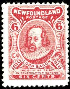 Newfoundland #92 MINT OG LH