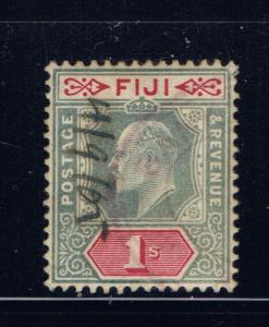 Fiji 67 Used 1903 issue with hand cancel wmk 2