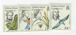 Falkland Islands Dependencies  MNH sc  1L97-1L100
