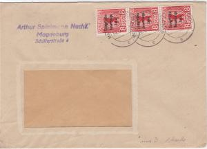 Germany Soviet Zone 1948 Magdeburg  stamps cover  R20744