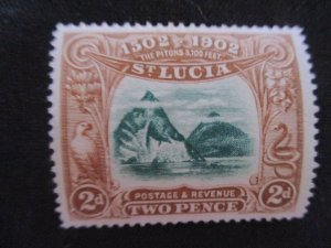 St. Lucia #49 Mint Never Hinged WDWPhilatelic (H6L7)