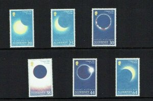 Alderney: 1999, Total Eclipse of thew Sun on 11th August   Presentation Pack