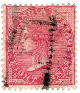 (I.B) India Postal : East India 8a (SG 65)