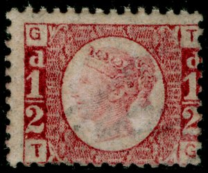 SG48, ½d rose-red plate 11, M MINT. Cat £120. TG