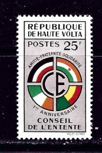 Burkina Faso 90 MNH 1960 issue