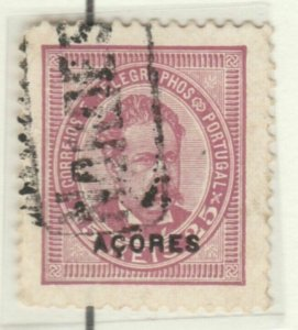 Portugal AZORES 1884-87 25r Pef 11½ Used A6P33F13