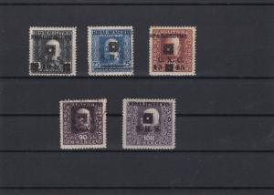 Yugoslavia Overprint Issues for Bosnia + Herzegovina Stamps  Ref 29677