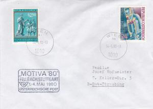 Austria 1980 Motiva 80 Fellbach/Stuttgart Cover VGC