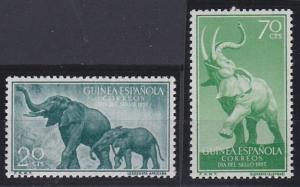 Spanish Guinea 348-349 MNH (1957)
