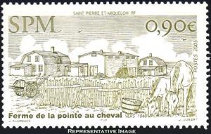 Saint Pierre & Miquelon Scott 808 Mint never hinged.
