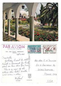 Tunisia Hammamet Hotel Fourati 1965 Postcard Sc 356 449
