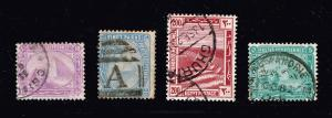 EGYPT STAMP OLD USED STAMPS COLLECTION LOT  #T2