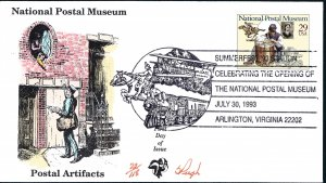 Beautiful Pugh Painted Postal Museum Pony Express FDC -only 118 created...