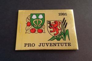 Switzerland 1981 Pro Juventute booklet mnh complete - Sc B484&485-bklt, Mi O-75