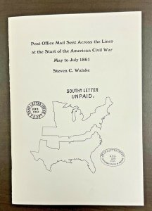Post Office Mail Sent Across the Lines at the Start of Civil War May-July 1861
