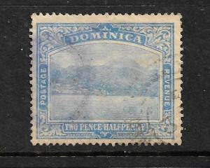 DOMINICA  1908-20   2 1/2d  PICTORIAL  FU  SG 50