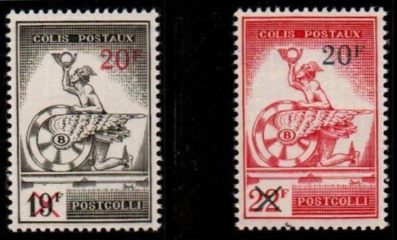 Belgium Scott Q371-2 Mint hinged (Catalog Value $50.00)
