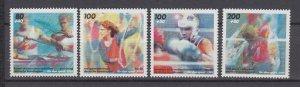 J29735, 1995 germany set mnh #b775-8 sports