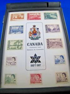CANADA 1967 CENTENNIAL ISSUE STAMP STORAGE BOX
