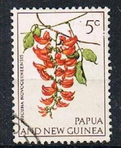 PAPUA NEW GUINEA 180436 - 1966 5c Orchids used
