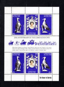 Christmas Island, 87,  Souvenir Sheet, VF,  Unused, CV $3.50 ..... 1370034