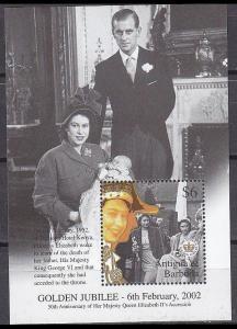 2002Antigua & Barbuda3679/B52950 years of the coronation of Elizabeth II Gold